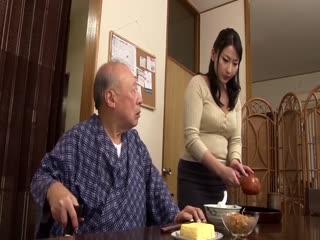 巨乳禁断看护之老爷爷们的肉棒