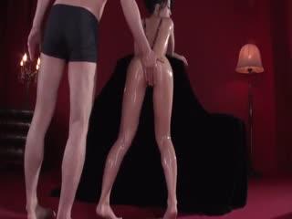 [中字]爽到美女颤抖着连干到腿软